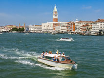 Venice waterfront view Stock Photo
