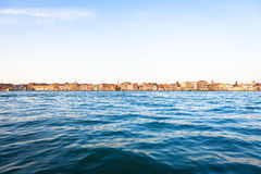 Venice waterfront from Zattere Stock Photo