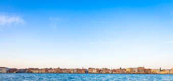 Venice waterfront from Zattere Royalty Free Stock Photography