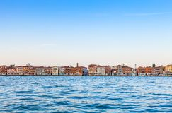 Venice waterfront from Zattere Stock Photos