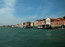 Venice Waterway Stock Photography