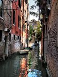 Venice Waterway Royalty Free Stock Images