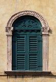 Venice window Stock Photo