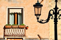 Venice Window Royalty Free Stock Photo