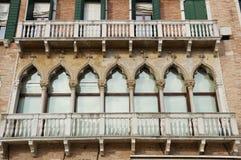 Venice windows, Italy Royalty Free Stock Photo