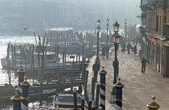 Venice in winter Stock Photos