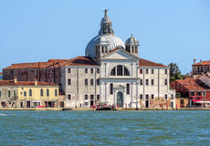 Venice - Zitelle Church on Giudecca island Stock Photos