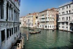 Venicean cityscape gondolas Stock Photos