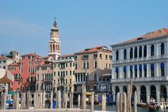 Venicean cityscape Stock Photos