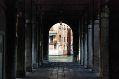Venicean cityscape Royalty Free Stock Images
