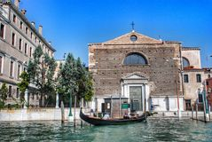 The church of San Marquola (Chiesa di San Marcuola), named after the saints of Hermagoor and Fortunate. Stock Images
