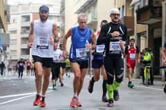 28. Venicemarathon: die Amateurseite Stockbild