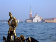 Free Venician Statue On Gondola Stock Photography - 16248872