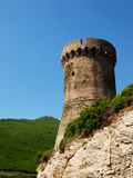 Genovese tower Royalty Free Stock Photo