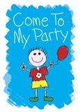 Venido a mi partido - muchacho Imagenes de archivo
