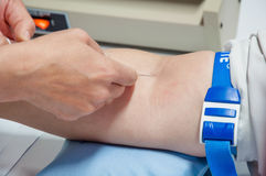 Venipuncture Royalty Free Stock Photo