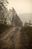 Venir de l'hiver Photographie stock