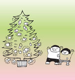 Venir de Noël Photo stock