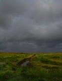 Venir de tempête Photographie stock