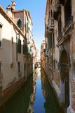 Venise运河,意大利 免版税图库摄影