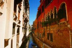 Venise运河,意大利 免版税库存图片