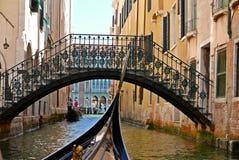 Venise运河,意大利 库存照片