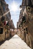 Venise a abandonné la rue Venezia Image libre de droits