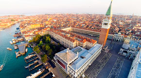 Venise avec la place du ` s de St Mark Images libres de droits