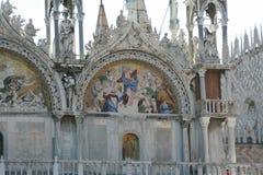 Venise, basilique de San Marco, mosaïque photos libres de droits