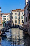 Venise, bateaux et canaux photos libres de droits