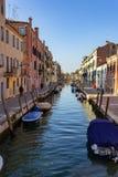 Venise, bateaux et canaux photo stock