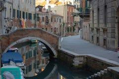 Venise, bateaux et canaux photographie stock