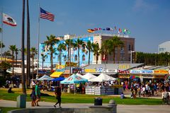 Venise Beach, Santa Monica, California Royalty Free Stock Photography