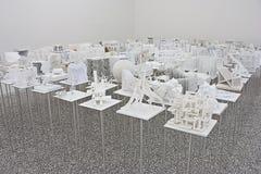 Venise Biennale 2012 : Pavillon de la Hongrie Photographie stock
