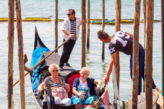 Venise Canal grand Photos libres de droits