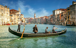 Venise, canal grand Photos libres de droits