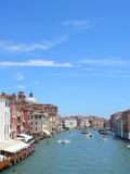 Venise, canal grand, verticale photo stock
