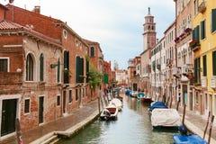 Venise Canal urbain photographie stock libre de droits