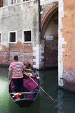 Venise, canal, Vénétie, Italie, Fotos de Stock Royalty Free