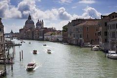Venise, canal, Vénétie, Italie, Foto de Stock Royalty Free