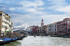 Venise, canal, Venetie, Italie, Photos stock