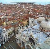 Venise dans le grand dos Image libre de droits