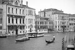 Venise dans le monochrome Image libre de droits