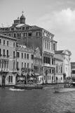 Venise dans le monochrome Images libres de droits