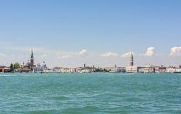 Venise dans un jour brillant lumineux l'Italie Photo stock