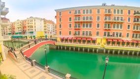 Venise Doha Qatar banque de vidéos