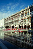 Venise in flood-tide Royalty Free Stock Image