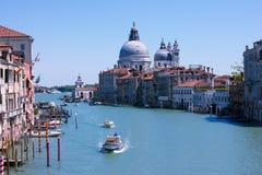 Venise Grand Canal peut dedans photographie stock libre de droits