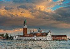 Venise, Italie, basilique San Giorgio Maggiore image stock