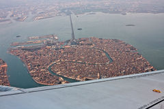 Venise, Italie, de l'air Images stock